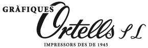 Logo gràfiques ortells